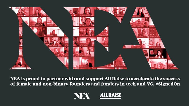 NEA is #SignedOn with All Raise!