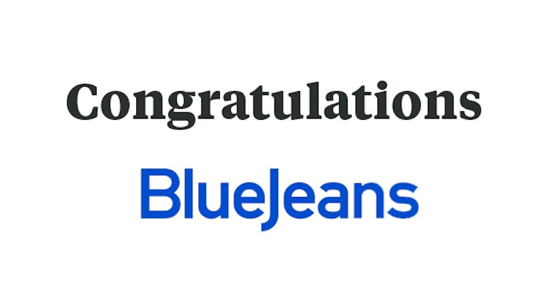 BlueJeans to be Acquired by Verizon!