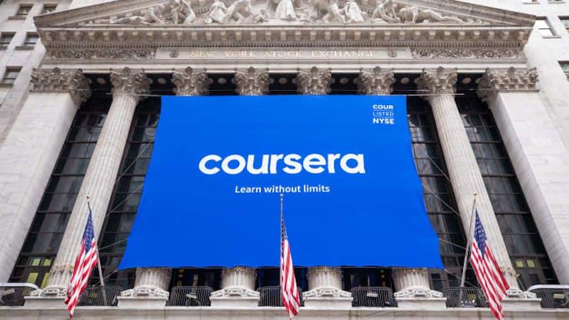 Congratulations, Coursera!